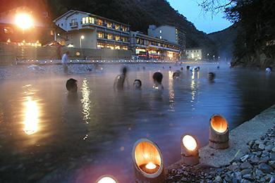 川湯温泉千人風呂の画像