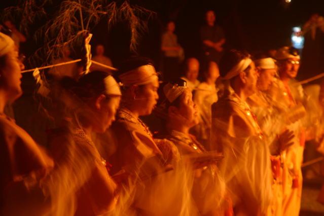 【熊野】 護摩焚き 熊野本宮大社旧社地・大斎原 Gomataki Shinto Ritual at Ohyunohara