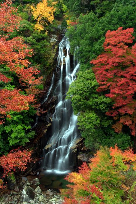 紀和町「荒滝」 Ara-Taki Fall at Kiwa Town