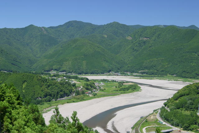 見晴らし台より View Point of Kumano Kodo Nakahechi Route