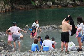 川湯温泉 河原の露天風呂