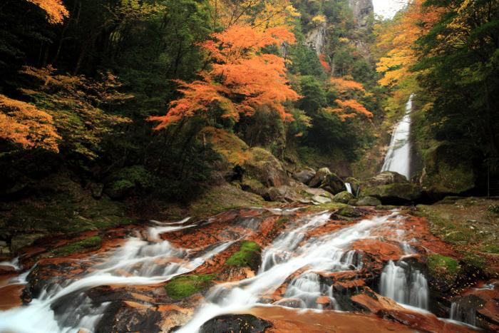 十津川村「笹の滝」 Sasa-no-Taki Fall at Totsukawa Village