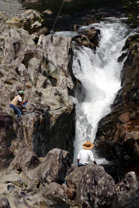 古座川町「滝の拝」 Taki-no-hai Falls at Kozagawa Town