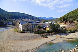 渡瀬温泉の風景